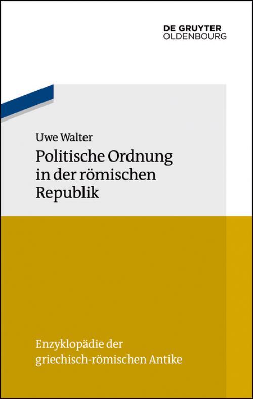 Politische Ordnung in der römischen Republik cover