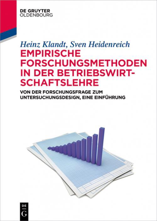 Empirische Forschungsmethoden in der Betriebswirtschaftslehre cover