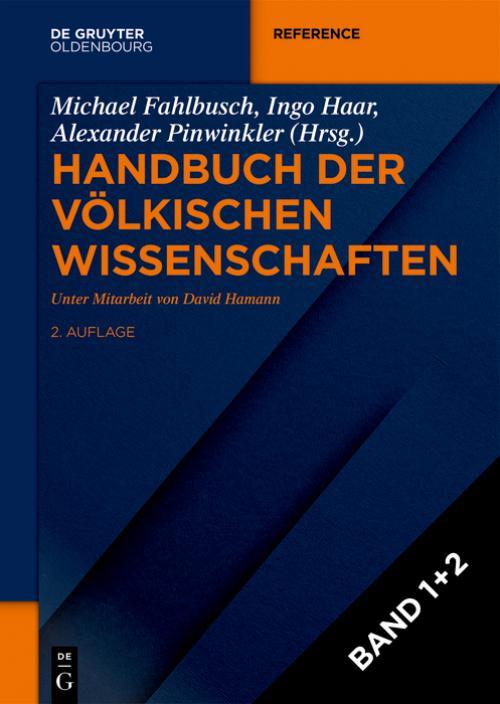 Handbuch der völkischen Wissenschaften cover