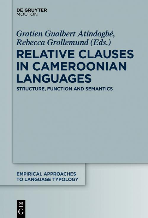 Relative Clauses in Cameroonian Languages cover