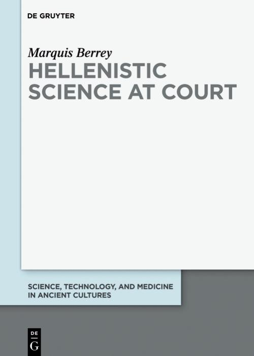 Hellenistic Science at Court cover