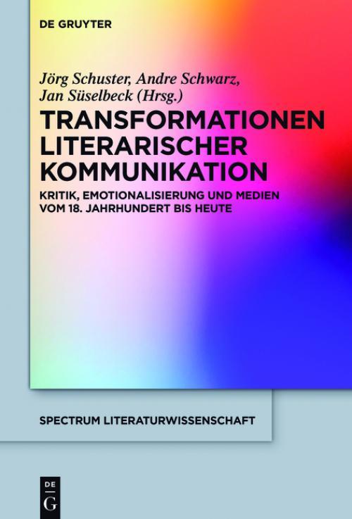 Transformationen literarischer Kommunikation cover