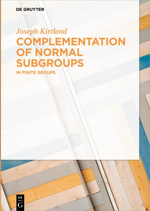 Complementation of Normal Subgroups cover