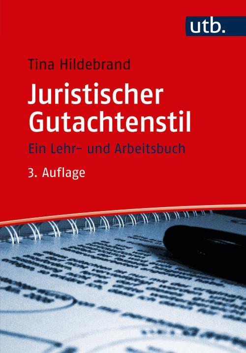 Juristischer Gutachtenstil cover