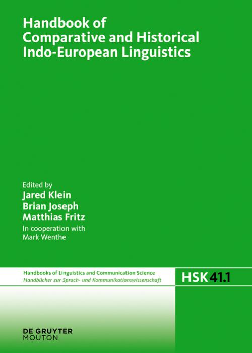Handbook of Comparative and Historical Indo-European Linguistics cover