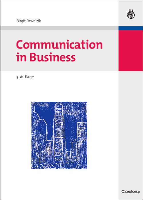 Communication in Business cover