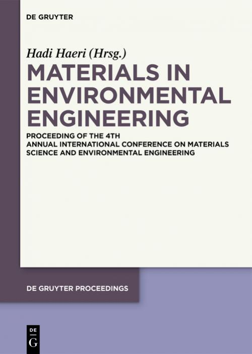 Materials in Environmental Engineering cover