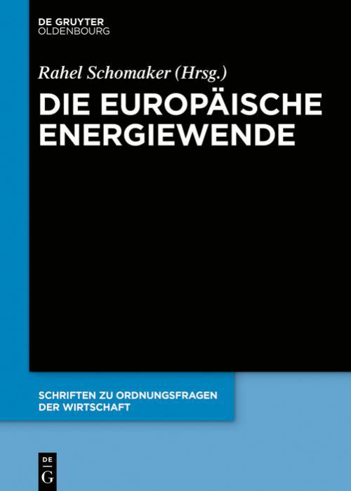 Die europäische Energiewende cover
