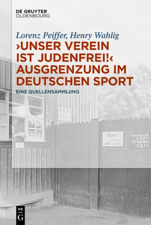 """""""Unser Verein ist judenfrei!"""" Ausgrenzung im deutschen Sport cover"""