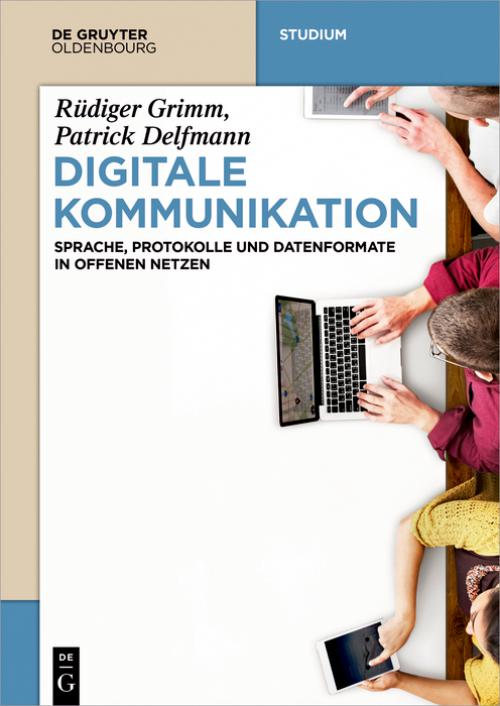 Digitale Kommunikation cover
