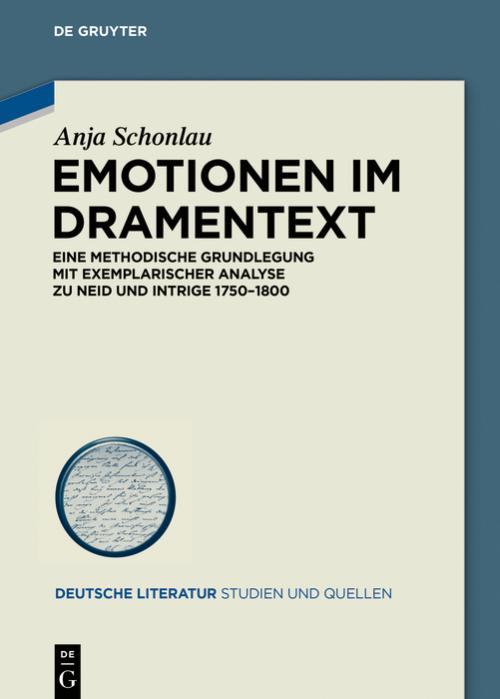 Emotionen im Dramentext cover