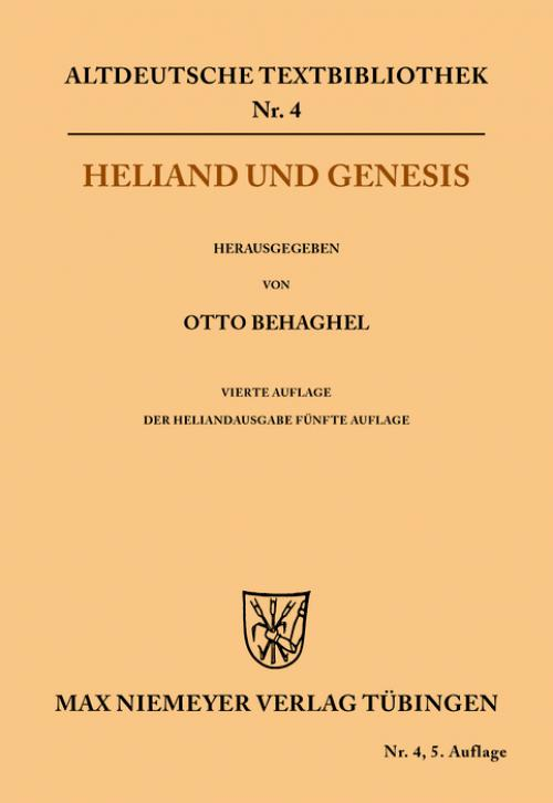Heliand und Genesis cover