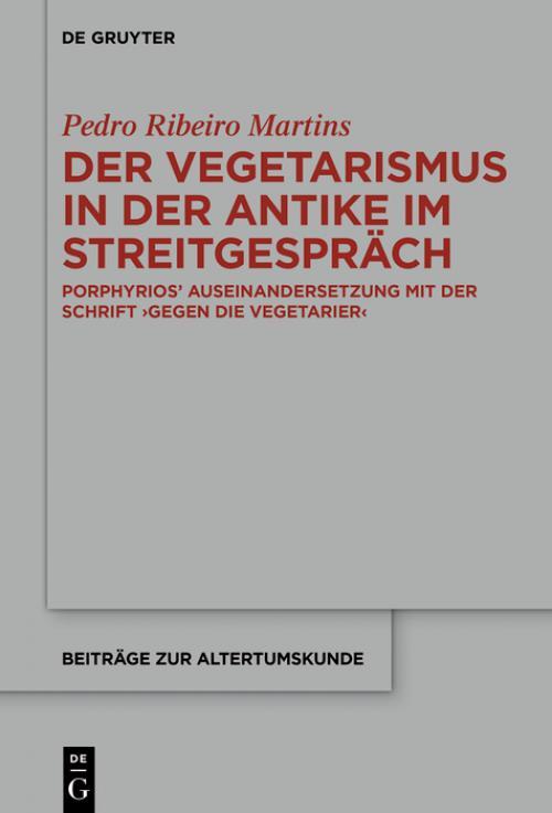 Der Vegetarismus in der Antike im Streitgespräch cover