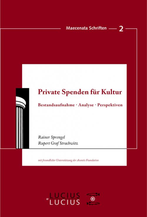 Private Spenden für Kultur cover