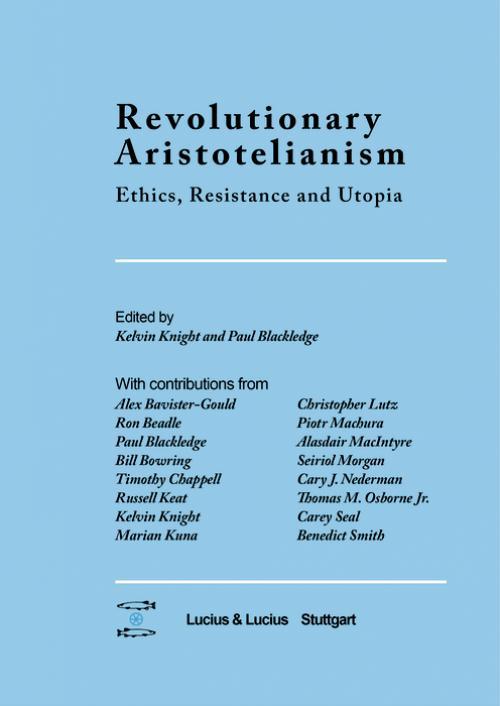 Revolutionary Aristotelianism cover