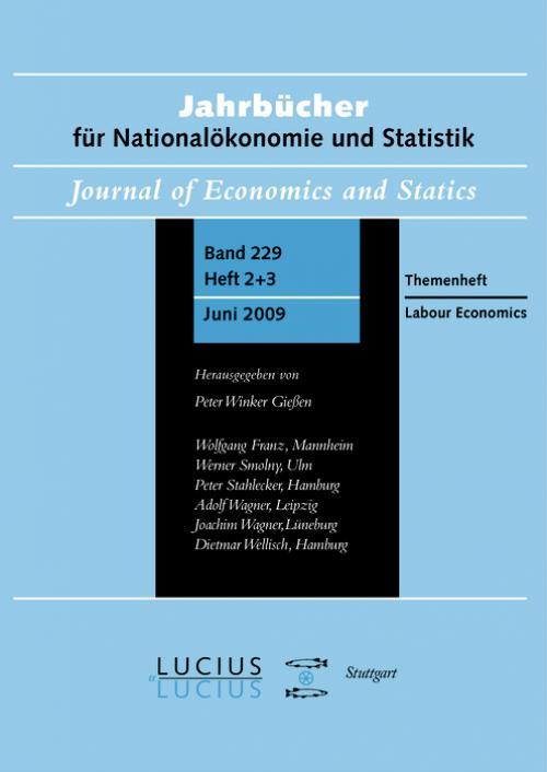 Labour Economics cover