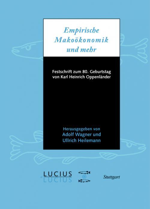 Empirische Makroökonomik und mehr cover