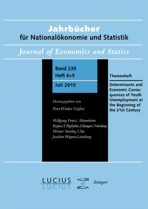 Determinants and Economic Consequences of Youth Unemployment at the Beginning of the 21st Century cover