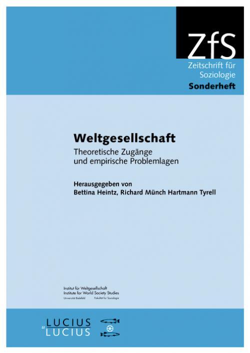 Weltgesellschaft cover