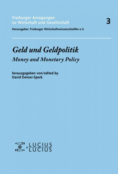 Geld und Geldpolitik cover