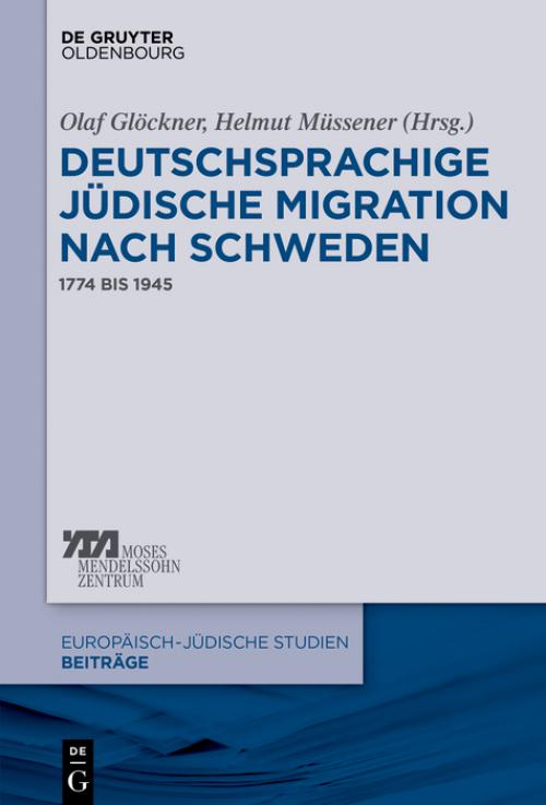 Deutschsprachige jüdische Migration nach Schweden cover