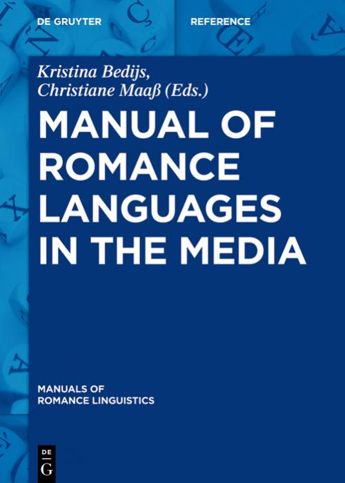 Manual of Romance Languages in the Media cover