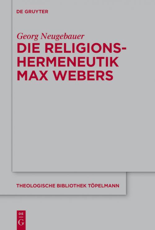 Die Religionshermeneutik Max Webers cover