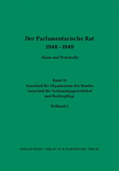 Ausschuß für Organisation des Bundes / Ausschuß für Verfassungsgerichtshof und Rechtspflege cover