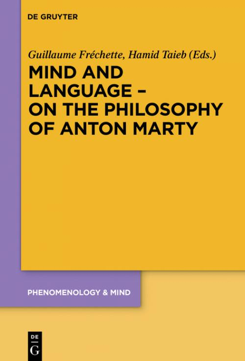 Mind and Language – On the Philosophy of Anton Marty cover