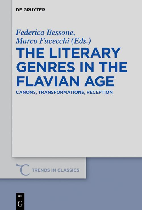 The Literary Genres in the Flavian Age cover