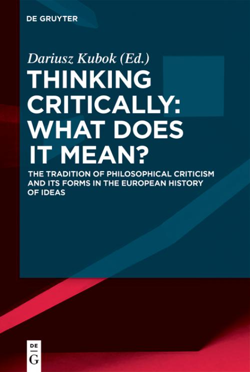 Thinking Critically: What Does It Mean? cover