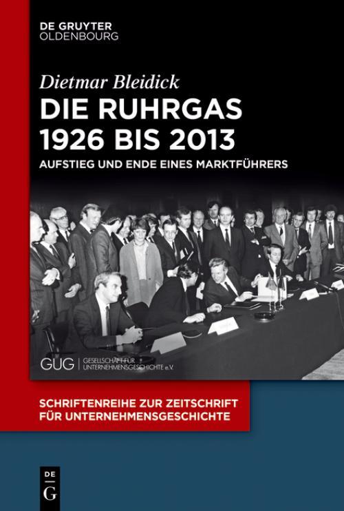 Die Ruhrgas 1926 bis 2013 cover