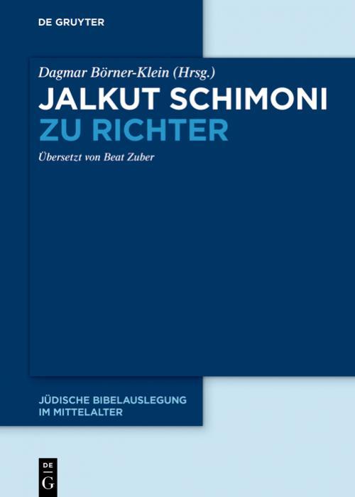 Jalkut Schimoni zu Richter cover