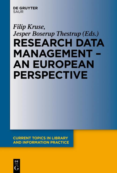Research Data Management - A European Perspective cover