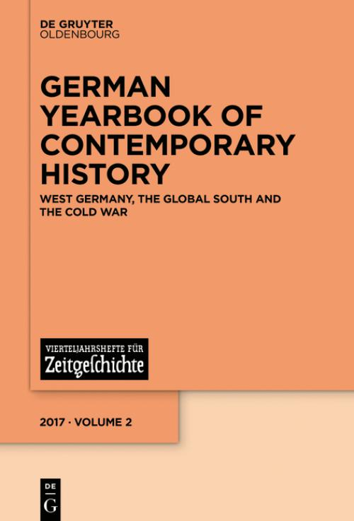 West Germany, the Global South and the Cold War cover