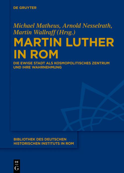 Martin Luther in Rom cover
