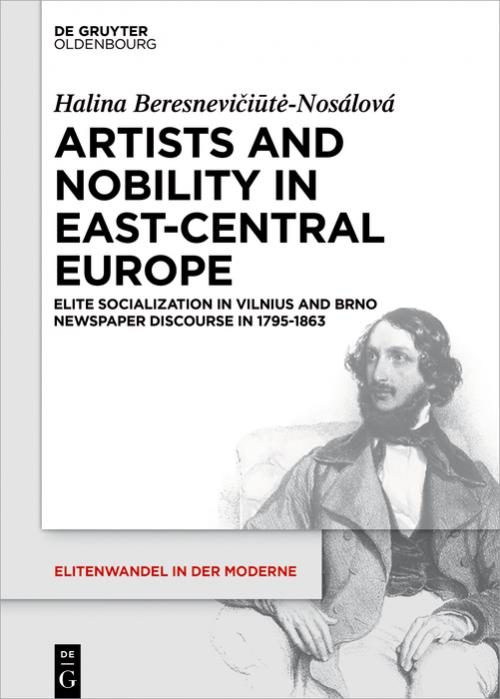 Artists and Nobility in East-Central Europe cover