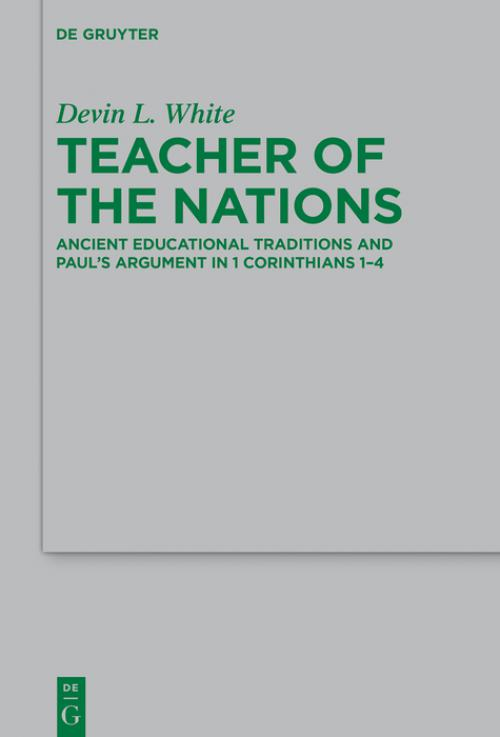 Teacher of the Nations cover