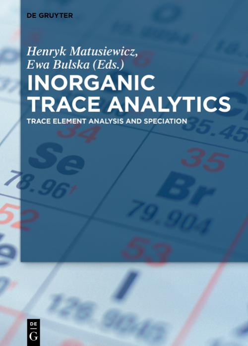Inorganic Trace Analytics cover