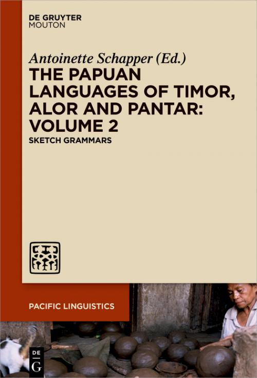 The Papuan Languages of Timor, Alor and Pantar, Volume 2 cover