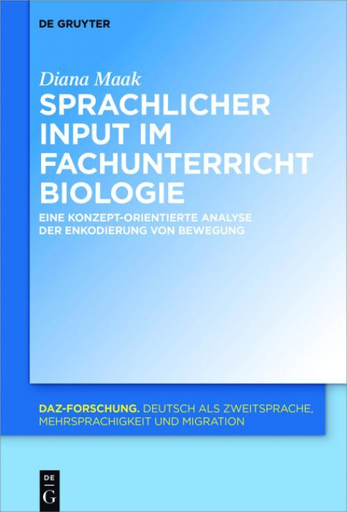Sprachliche Merkmale des fachlichen Inputs im Fachunterricht Biologie cover