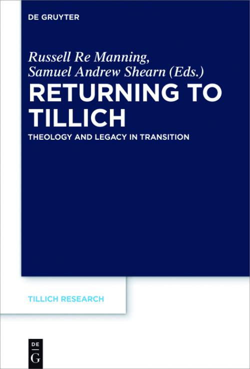 Returning to Tillich cover