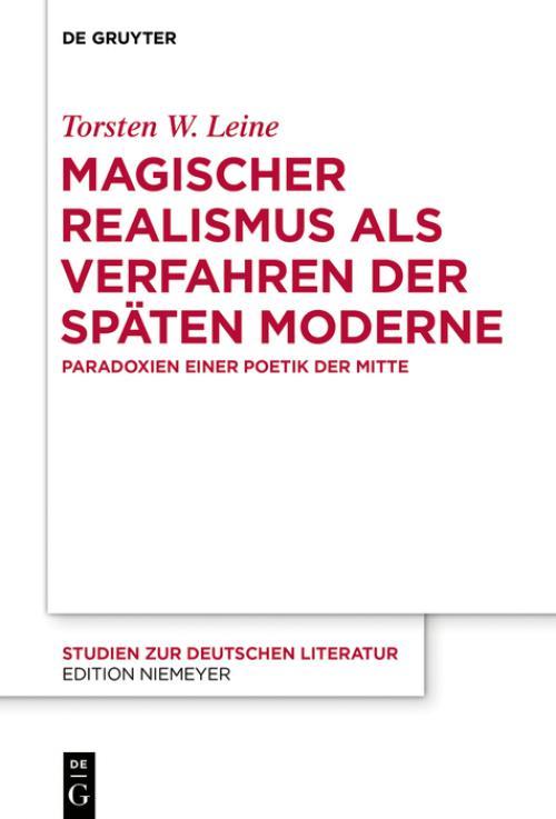 Magischer Realismus als Verfahren der späten Moderne cover