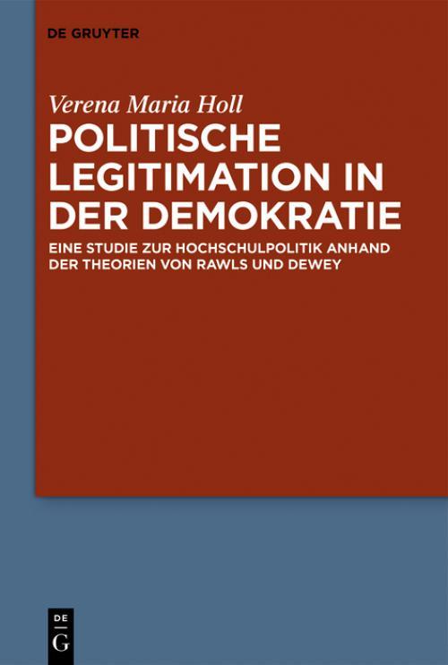 Politische Legitimation in der Demokratie cover