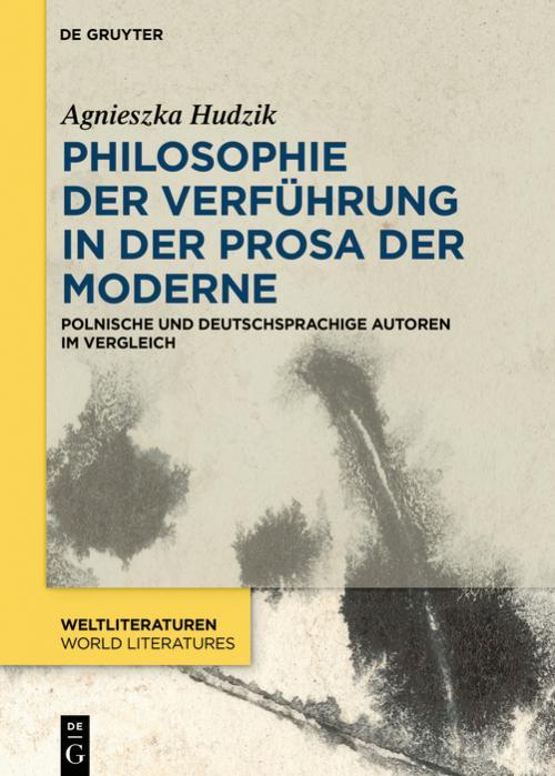 Philosophie der Verführung in der Prosa der Moderne cover