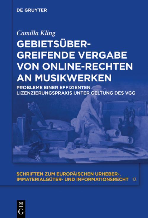 Gebietsübergreifende Vergabe von Online-Rechten an Musikwerken cover