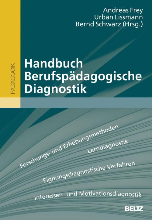 Handbuch Berufspädagogische Diagnostik cover