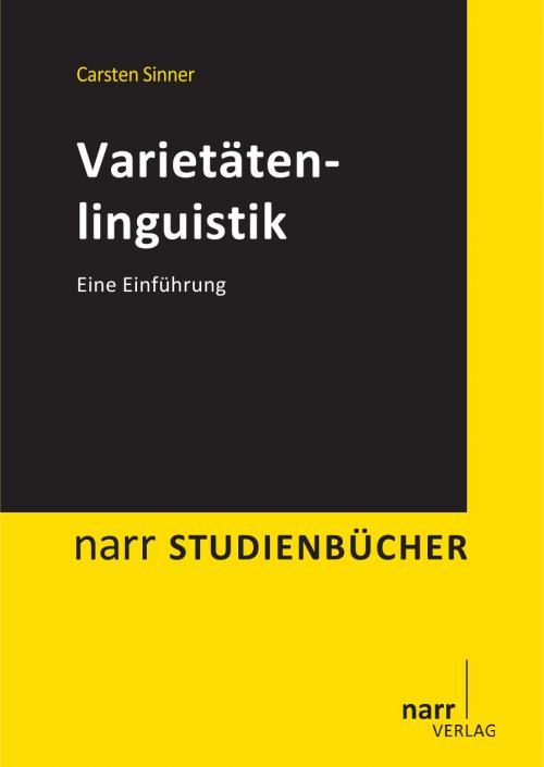 Varietätenlinguistik cover