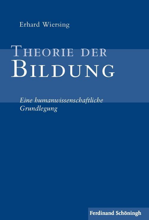 Theorie der Bildung cover