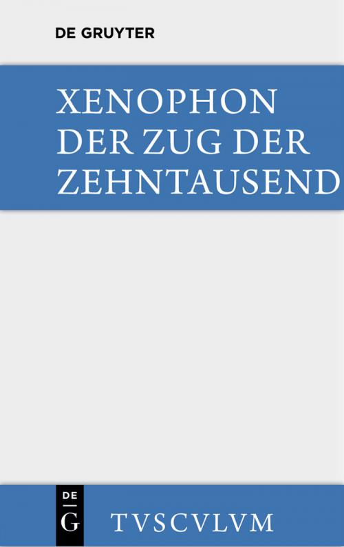 Der Zug der Zehntausend / Cyri Anabasis cover